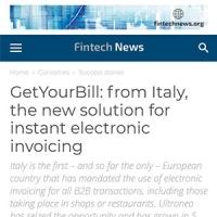 Rassegna Stampa GetYourBill   Fintech News 21 giugno 2021