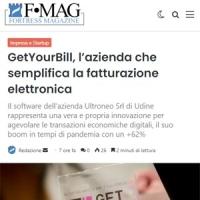 Rassegna Stampa GetYourBill | Fortress Magazine 10 giugno 2021