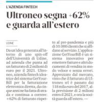 Rassegna Stampa GetYourBill | Messaggero Veneto 9 giugno 2021