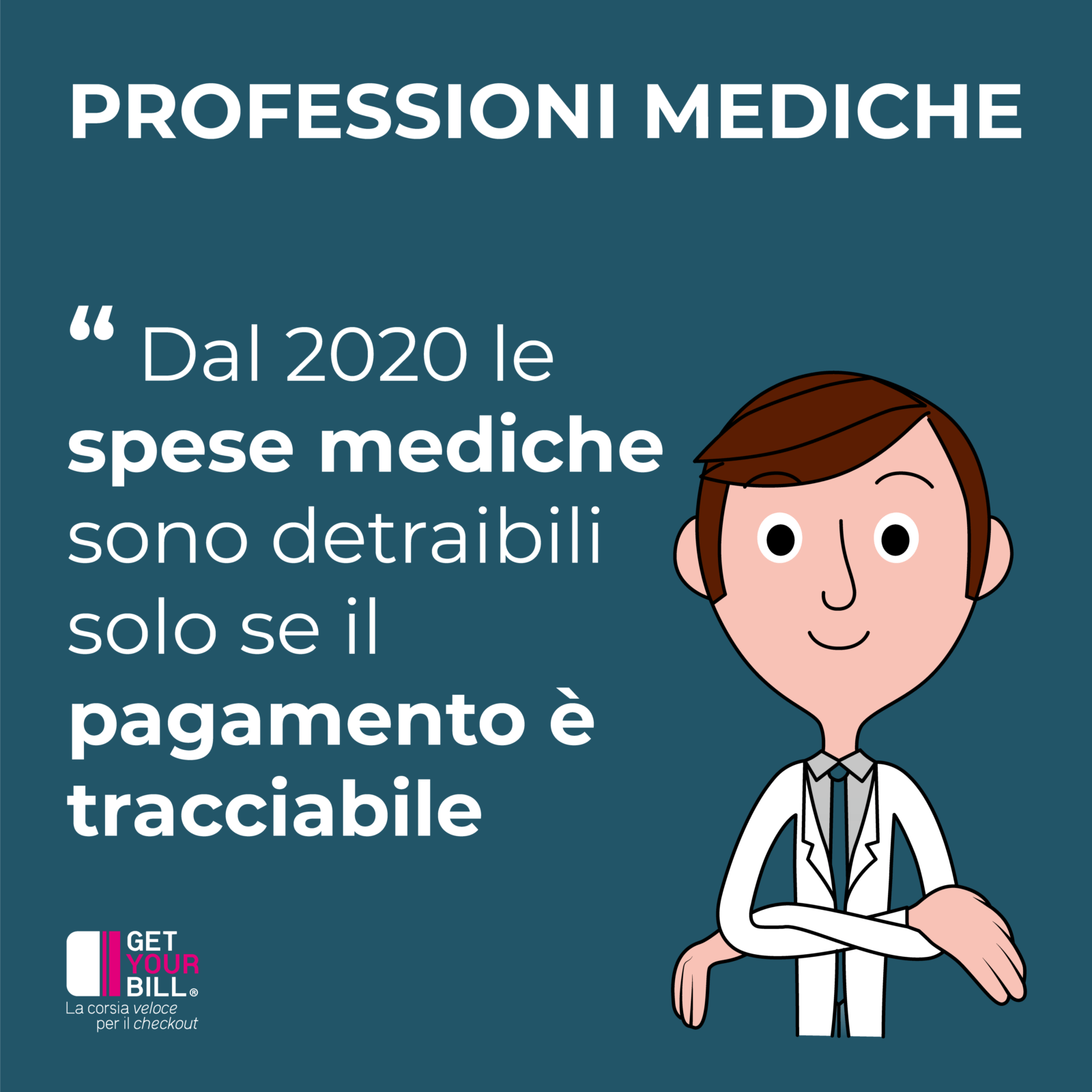Post Instagram - professioni mediche
