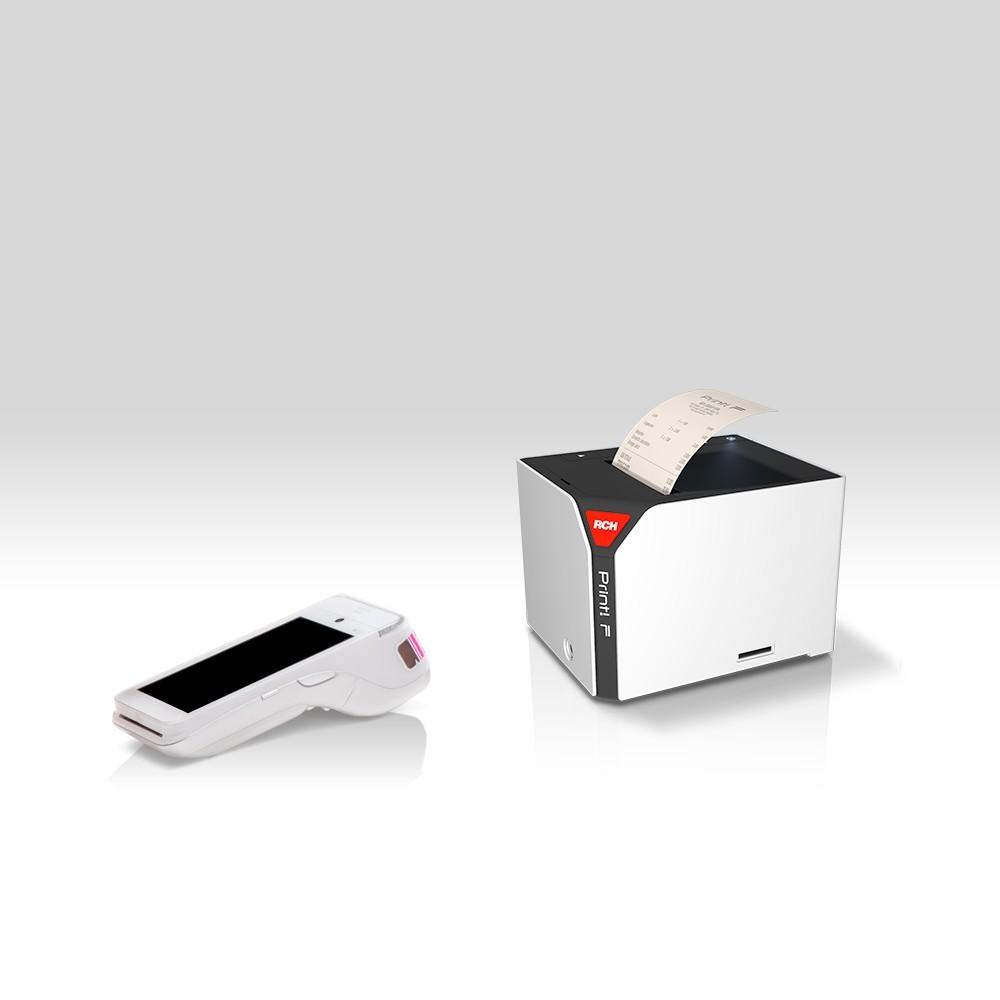 Scontrino elettronico di GetYourBill emesso con stampante Print!F di RCH