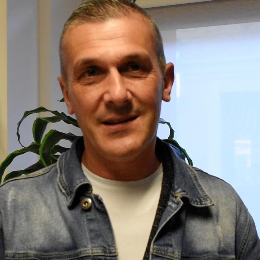 Denis Nernardinis di DA Caffè - distribuzione cialde di caffè e bevande calde