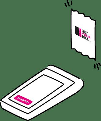 Stampa la fattura elettronica da POS con GetYourBill!