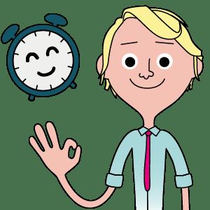 Gino è felice di risparmiare tempo grazie al sistema di correzione automatica degli errori evidenziati dal Sistema di Interscambio